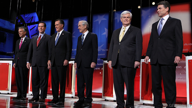 Five things learned from the GOP debate