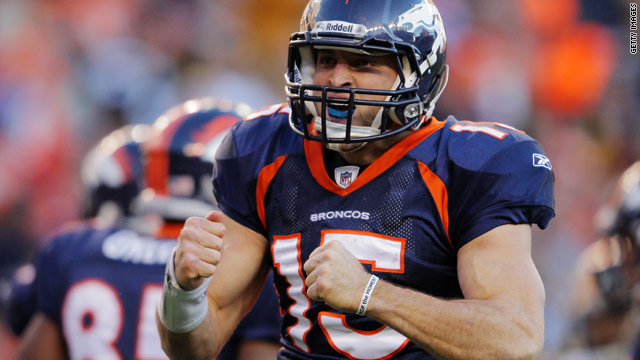 Believe it: Tebow works another miracle in Denver