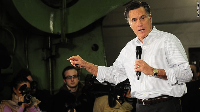 Romney tries to correct stumbles