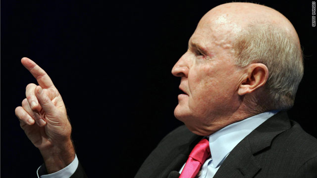 Jack Welch: I was right about jobs report