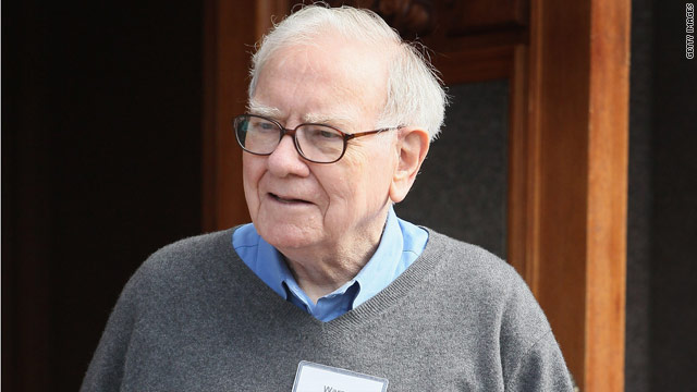 Buffett renews argument for millionaire's tax