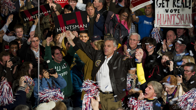 Huntsman puts trust first in final N.H. push