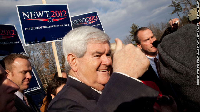 What happened to Newt Gingrich's promise to take the high road?