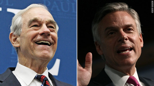 CNN Projection: Ron Paul comes in second, Jon Huntsman third in N.H. primary