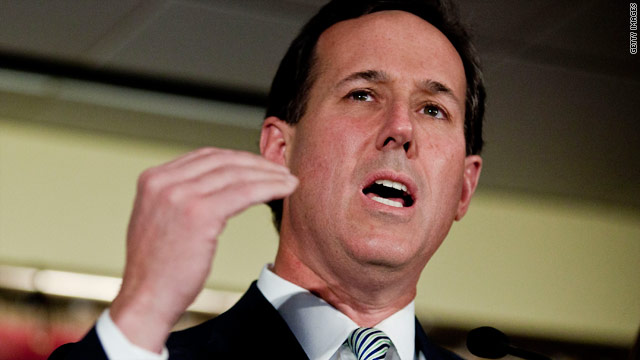 Santorum hits rockier road in New Hampshire