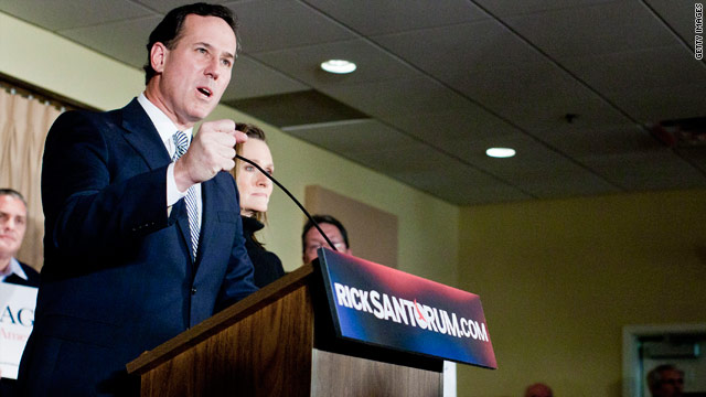 Christian conservative leaders vote to support Santorum