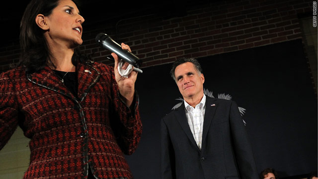 Haley warns Republicans against Romney attacks