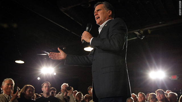 BLITZER&#039;S BLOG: Who will Romney not pick as his V.P.?