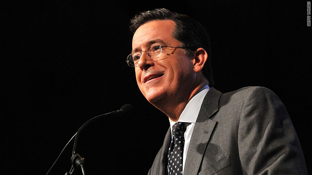 Colbert for president (again)