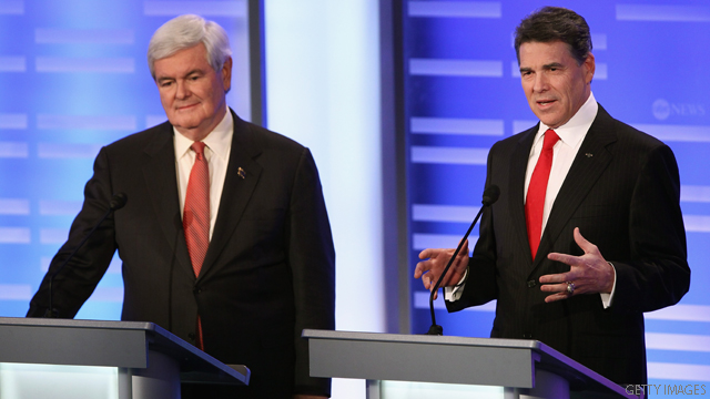Chamber to Gingrich, Perry: Shut it