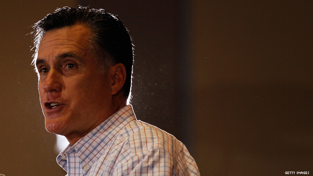 Romney back on top in new CNN national poll