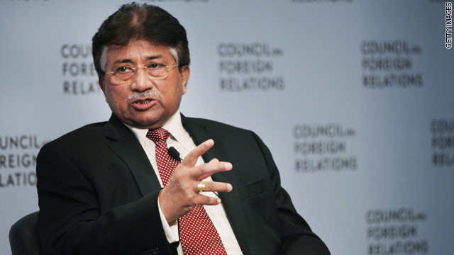 BLITZER'S BLOG: Musharraf on why he's returning to Pakistan