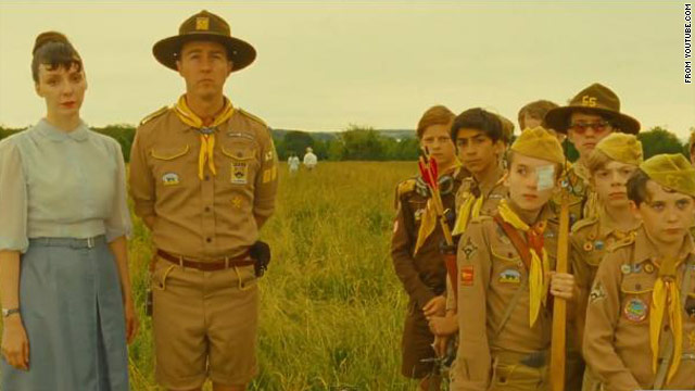 Wes Anderson goes to camp with 'Moonrise Kingdom'