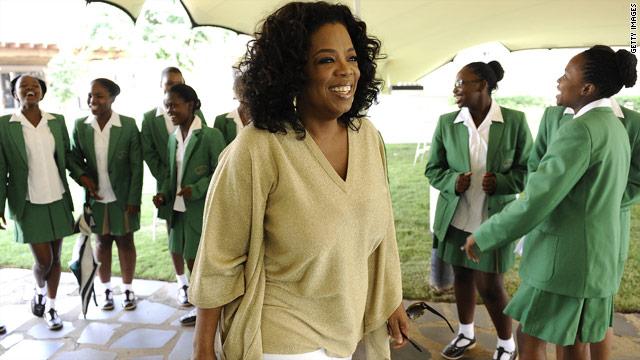 Oprah: 'I'm 100% behind Barack Obama'