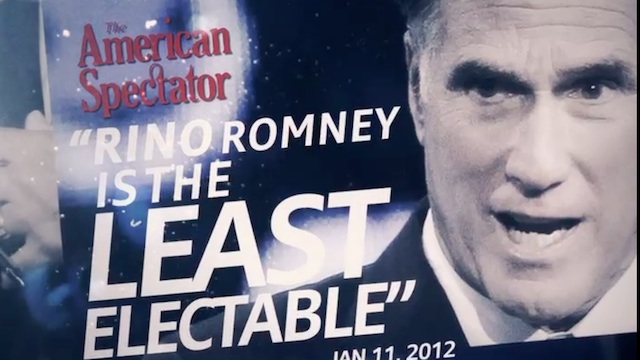Group backing Gingrich hits Romney for health care law and Bain record