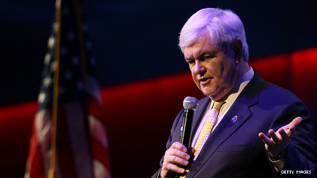Gingrich talks of &#039;baggage&#039; in church