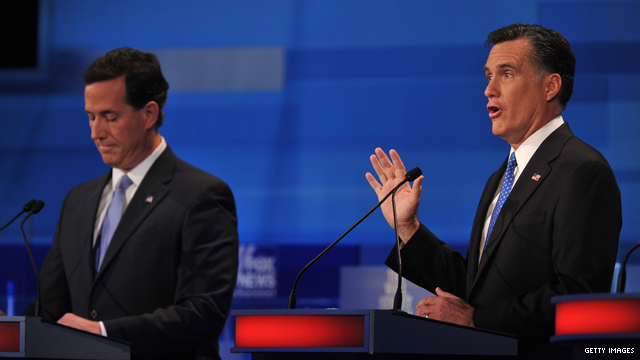 Romney is pushed again on tax returns, business background at SC debate