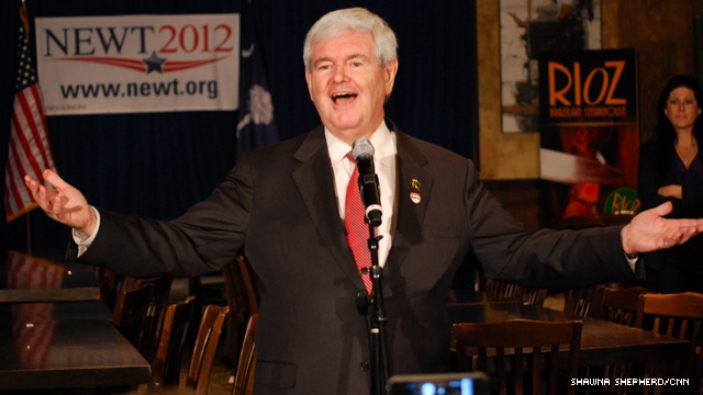 Gingrich pitch to conservatives: Don't vote for Santorum