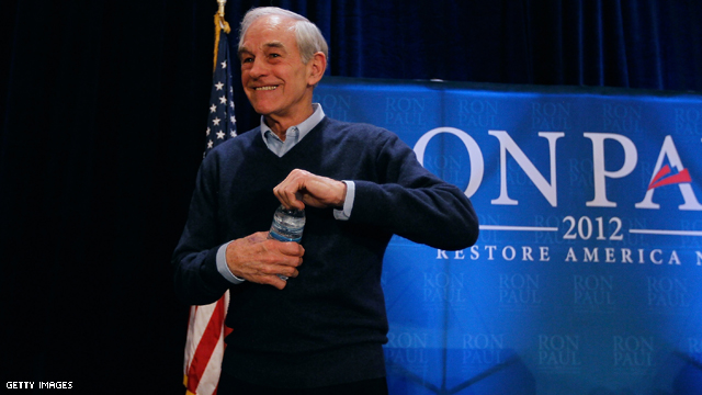 Ron Paul 'money bomb' brings in $1.3 million