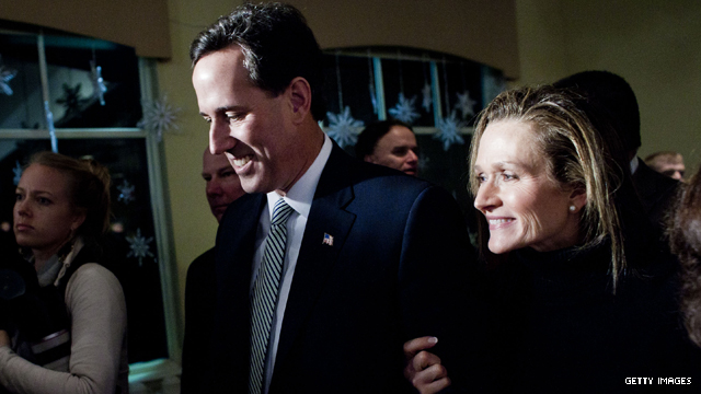 Santorum&#039;s wife: Rick doesn&#039;t hate anyone