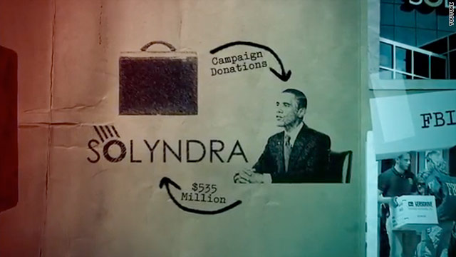 Group spends $6 million linking Obama to Solyndra in ad