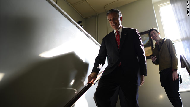 Huntsman drops presidential bid