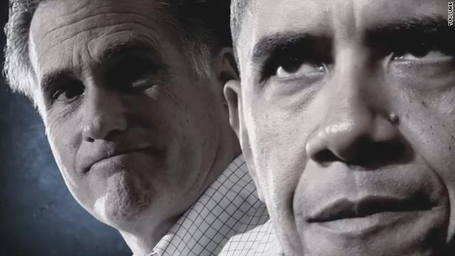 Santorum ad paints Romney and Obama as the same