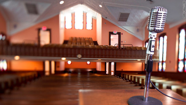 CNN Photos: Inside MLK's newly renovated church