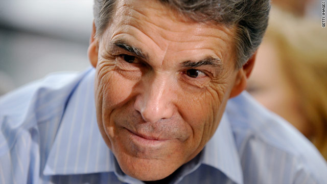 Perry struggled with sleep disorder during campaign