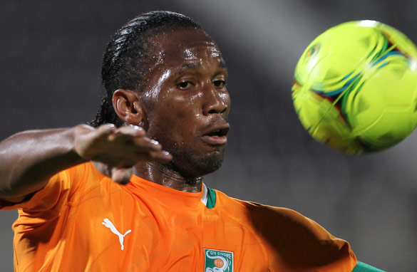 Can Chelsea striker Didier Drogba lead the Ivory Coast to African Cup of Nations glory? (Getty Images)