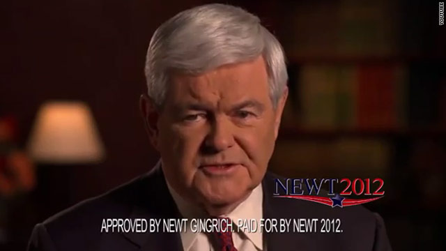 Gingrich shows off debate performance in S.C. ad