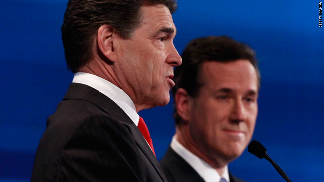 Gingrich urges Santorum, Perry to drop out