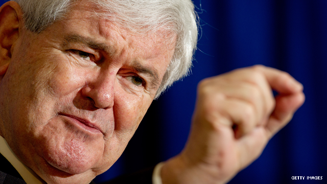 Gingrich: U.S. should reconsider gold standard