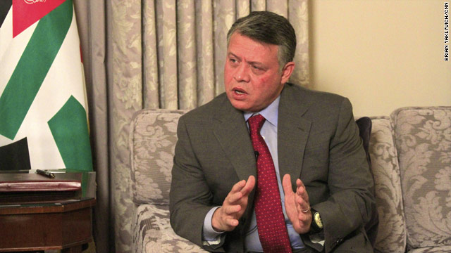 Jordan's King Abdullah sits down for interview with CNN in Washington