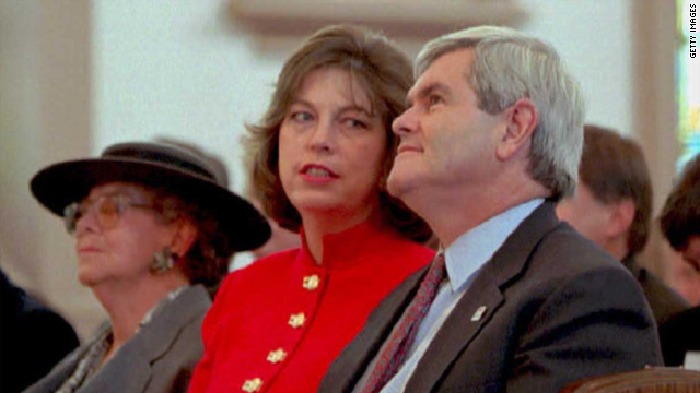 When is the proper time to release a potentially damaging interview with one of Newt Gingrich's ex-wives?