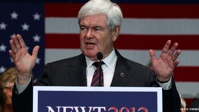 Gingrich adviser predicts 4-6 point win in South Carolina