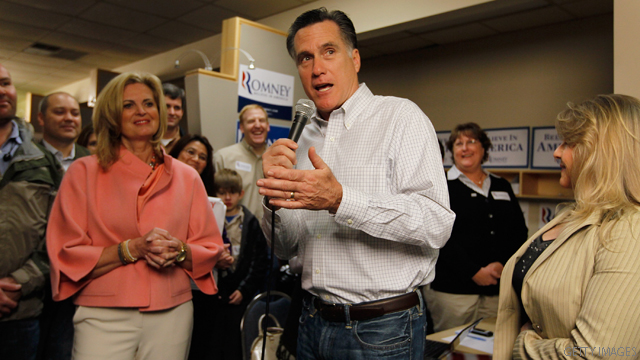 Romney on Bush White House visit: 'He has to duck'