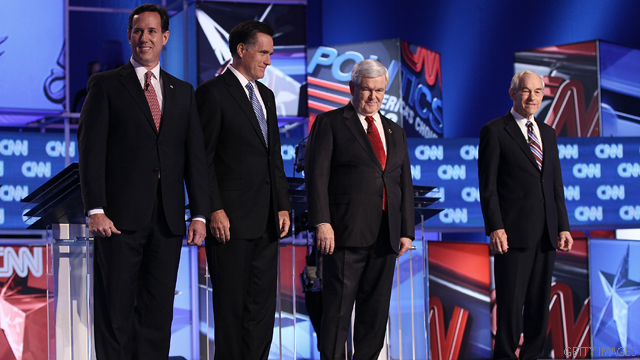 GOP candidates to debate Thursday on CNN