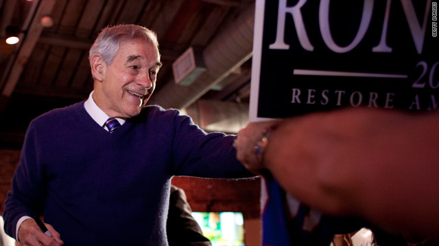 BREAKING: Ron Paul to end active campaigning
