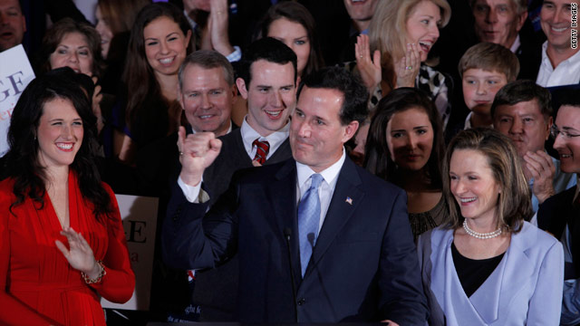 Santorum: S.C. results mean GOP race will be a long fight