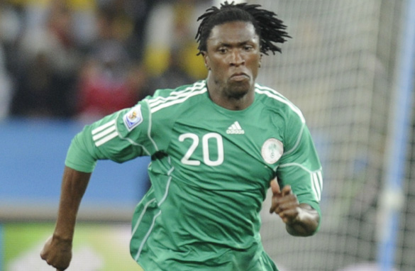 Fulham midfielder Dickson Etuhu has represented Nigeria at the highest level. (Getty Images)
