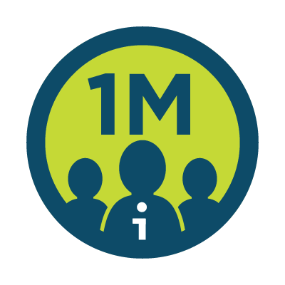 Million iReporter badge
