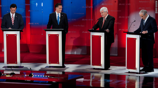 Romney attacks Gingrich in GOP debate