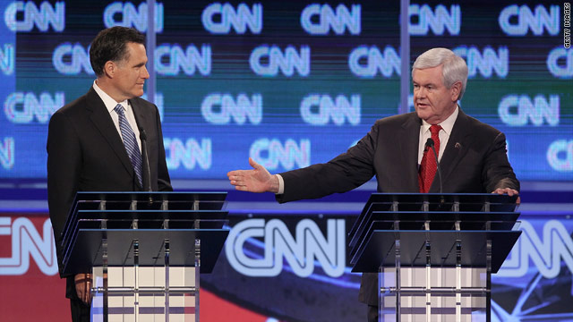 Gingrich, Romney tied in new national poll