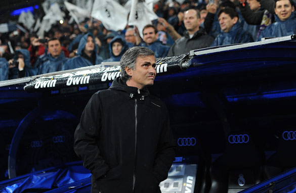 Is coach Jose Mourinho falling out of love with Real Madrid after being booed by the club's fans? (Getty Images)