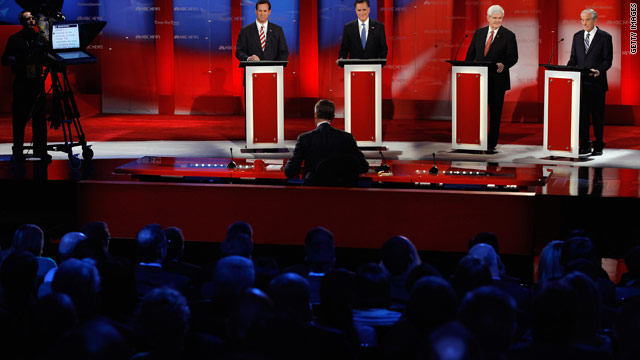 Romney camp says Gingrich pouting for debate comments
