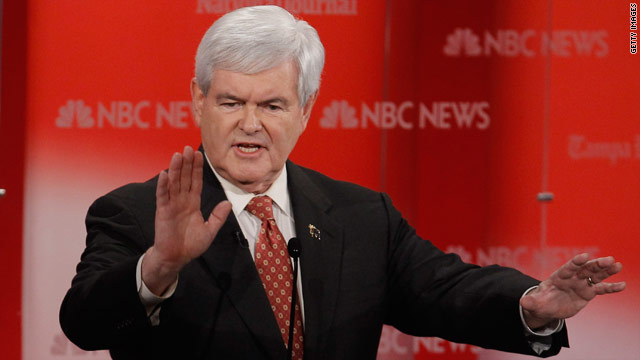 Gingrich hits $2 million fundraising goal