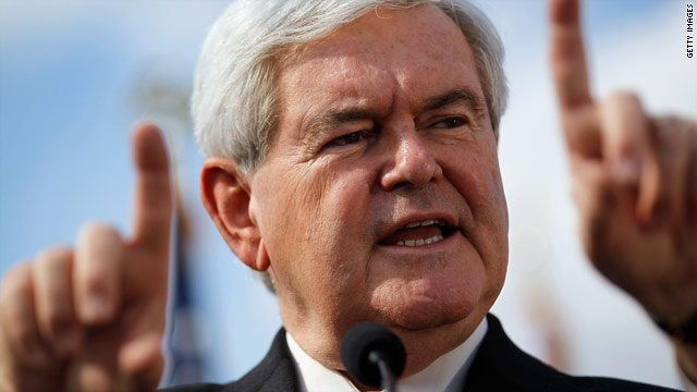 Gingrich's debt nearly matches cash on hand in January