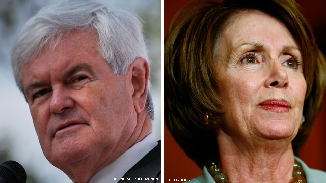 Gingrich: Pelosi lives in land of &#039;strange fantasies&#039;