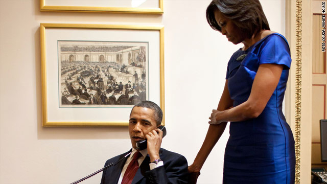 President Obama's good news call